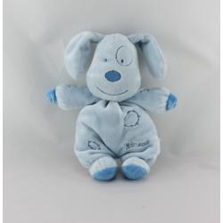 Doudou chien bleu PREMAMAN