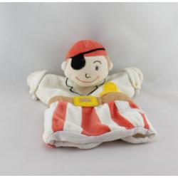 Doudou plat marionnette pirate CMP