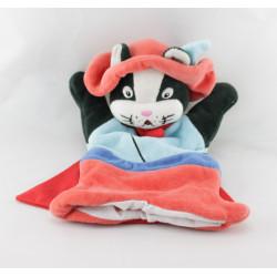 Doudou plat marionnette chat botté CMP