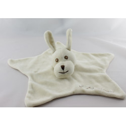 Doudou plat étoile chien beige 3 POMMES