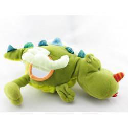 Doudou dragon vert Walter LILLIPUTIENS