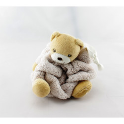 Doudou petit ours Plume beige KALOO