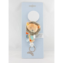 Attache tétine  lion orange KIABI SIMBA TOYS