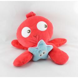 Doudou vibrant pieuvre rouge TOUT SIMPLEMENT CASINO