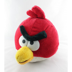 Peluche oiseau ANGRY BIRDS rouge