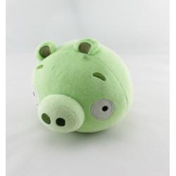 Peluche cochon Piggy ANGRY BIRDS vert