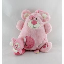 Doudou et compagnie ma boite à musique souris rose