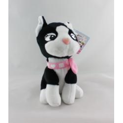Peluche Doudou chien noir RebeccaBonbon GIPSY