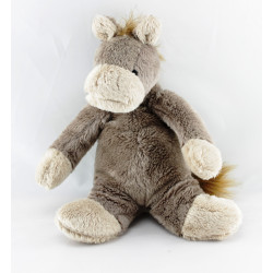 Doudou cheval marron KIMBALOO