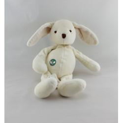 Doudou lapin blanc écru MY NATURAL