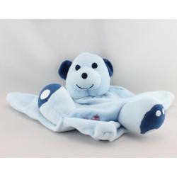 Doudou plat ours bleu PRODIMPOR
