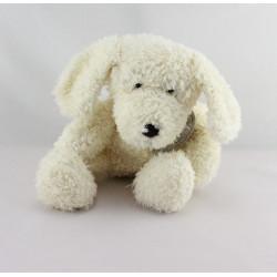 Doudou et compagnie chien blanc écru