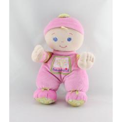 Doudou poupon rose Baby Doll FISHER PRICE