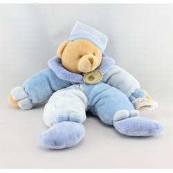 Doudou pantin ours bleu BABY NAT