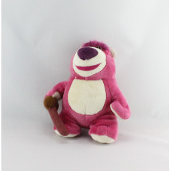 Doudou peluche ours rose Lotso Toys story DISNEY STORE