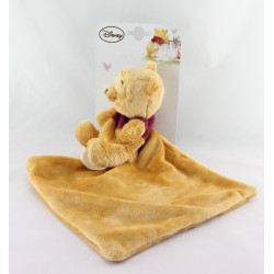 Doudou plat Winnie l'ourson mouchoir DISNEY NICOTOY
