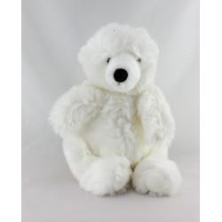 Peluche ours blanc tout doux NICOTOY