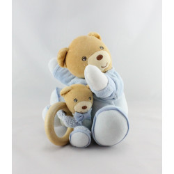 Doudou musical ours bleu blue bébé KALOO