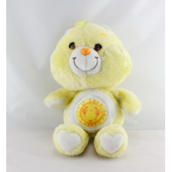 Ancienne Peluche Bisounours jaune soleil  Grosjojo CARE BEARS