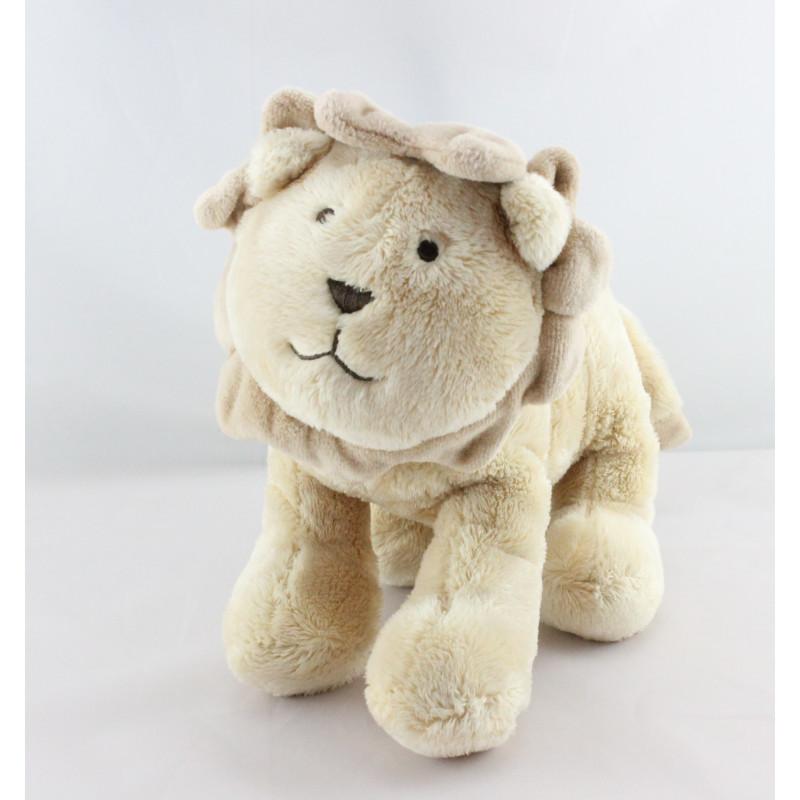 Doudou lion beige JACADI