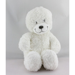 Doudou ours blanc TEX BABY