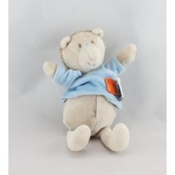Doudou hérisson pull bleu MOULIN ROTY