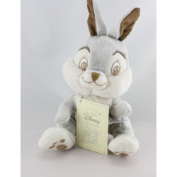 Peluche lapin gris Pan-pan l'ami de Bambi DISNEY CLASSICS