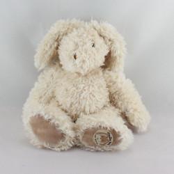Doudou lapin écru beige Les Lapins MOULIN ROTY