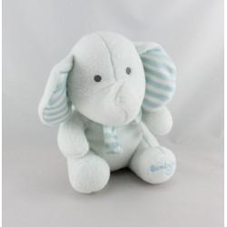Doudou luminou éléphant bleu JEMINI