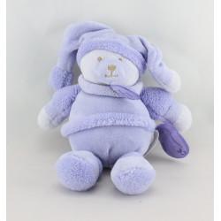 Doudou et compagnie ours Douceur Macaron mauve lavande