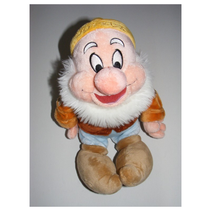 Peluche Simplet Les sept nains Blanche neige DISNEY