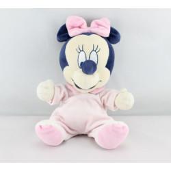 Doudou bébé minnie pyjama rose DISNEY