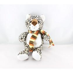 Doudou marionnette chat léopard BAMBIA