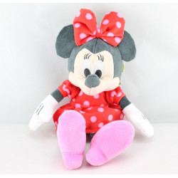 Peluche Minnie robe rouge  à pois DISNEY NICOTOY