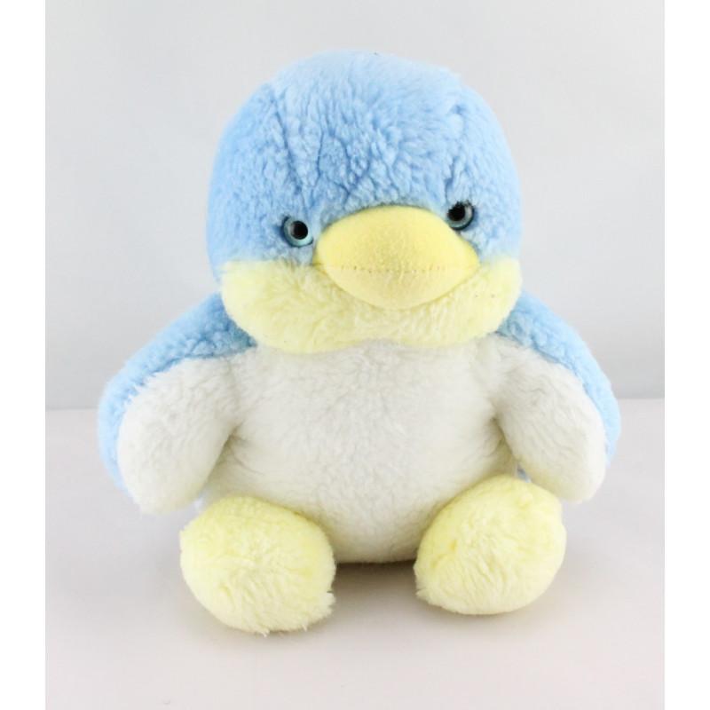 DouPeluche musical pingouin bleu blanc NOUNOURS