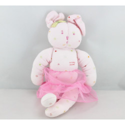 Doudou souris rose petit coeur tutu PETIT BATEAU