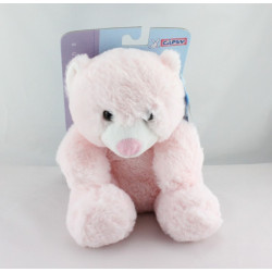 Doudou  peluche ours Huggy Bear rose GIPSY