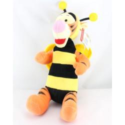 Peluche tigrou déguisé en abeille noir et jaune DISNEY