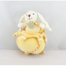 Doudou et compagnie musical lapin Bonnie étoile jaune Nuage d'étoiles