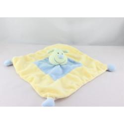 Doudou plat papillon vert jaune bleu KIABI