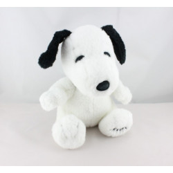 Peluche chien blanc noir Snoopy PLAY BY PLAY