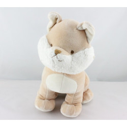 Doudou chat renard beige blanc MY NATURAL