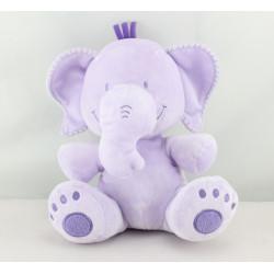 Doudou éléphant mauve violet SOFT FRIENDS