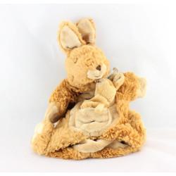 Doudou marionnette kangourou marron HISTOIRE D'OURS