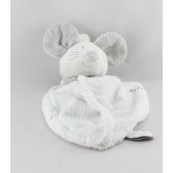 Doudou plat souris grise Titi DIMPEL