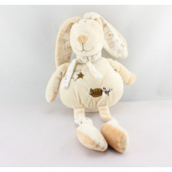Doudou p'tit lapin beige Happy flower BABY NAT