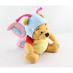 Doudou Winnie l'ourson déguisé en papillon Easter 2000 DISNEY