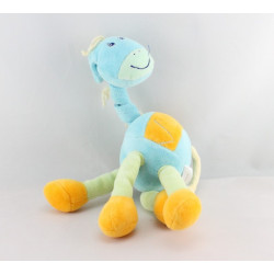 Doudou girafe bleu KIABI BEBE