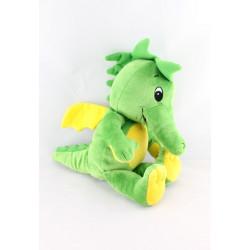 Peluche dragon vert jaune TABALUGA STUDIO 100