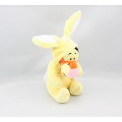 Doudou Tigrou déguisé en lapin jaune DISNEY NICOTOY